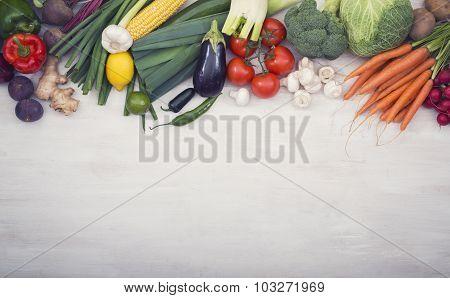 Vegetables hero header
