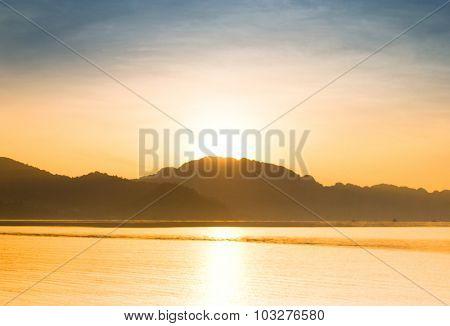 Sunlit Mountains Unreal Illumination