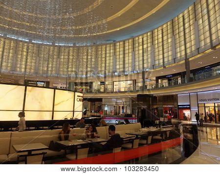 Fashion Avenue at Dubai Mall in Dubai, UAE