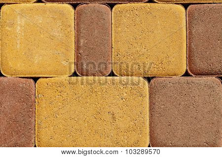 Paving Stone Texture. Building Background.