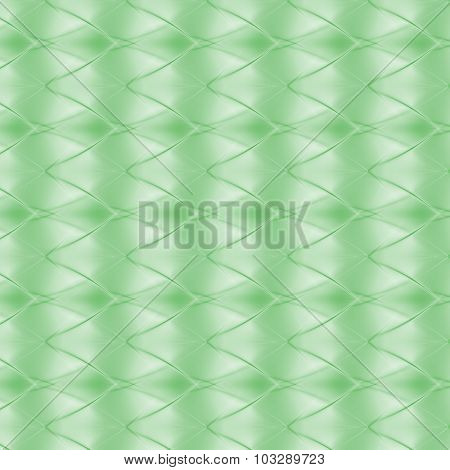 Abstract Zig Zag Background In Green