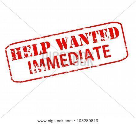 Help Wanted Innediate