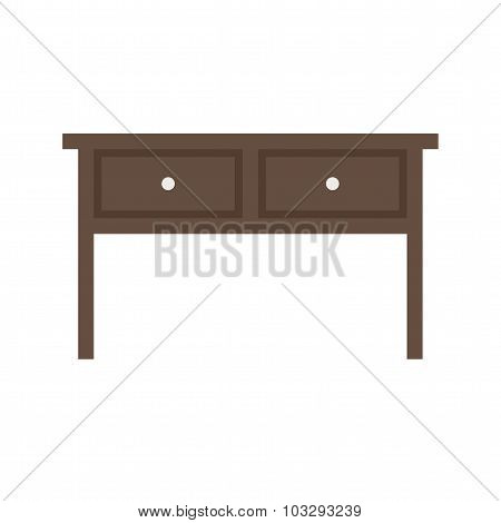 Table with Drawers I
