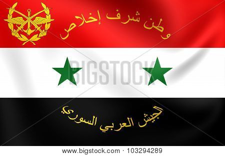 Flag Of Syrian Armed Forces