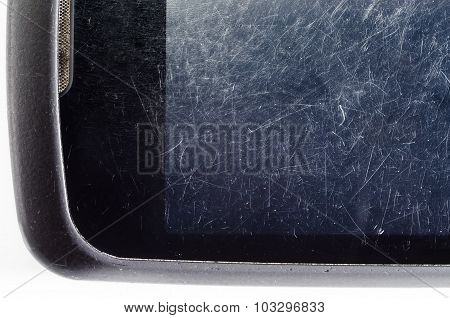 old smartphone screen