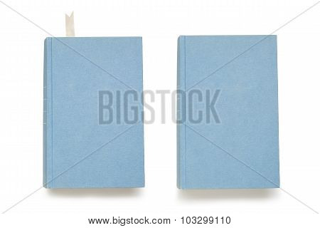 Empty book covers