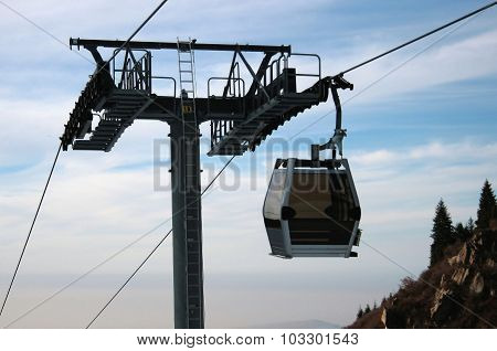 Cabin cableway