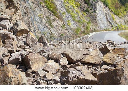 Fallen Stones On The Road