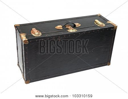 leather trunk