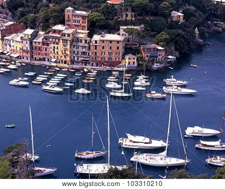 Portofino harbour.