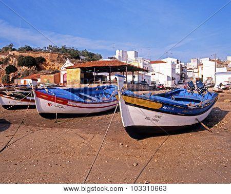 Boats on the beach, Alvor.