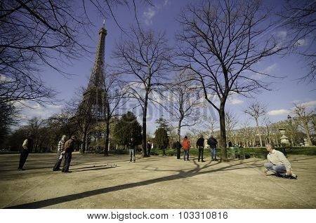 Elders In Paris