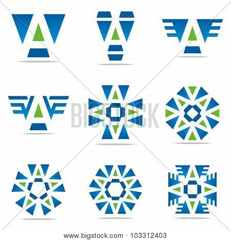 Logo all sales abstract symbol Vector Design