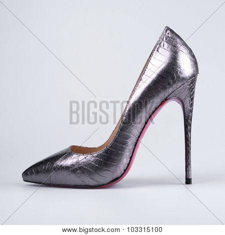 Women's Shoes Steel Color