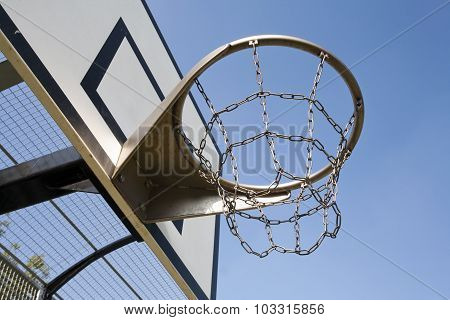 Heavy Duty Basketball Hoop