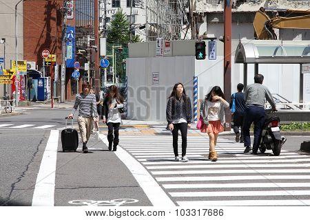 Nagoya Pedestrian Crossing