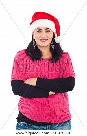 Smiling Santa Helper