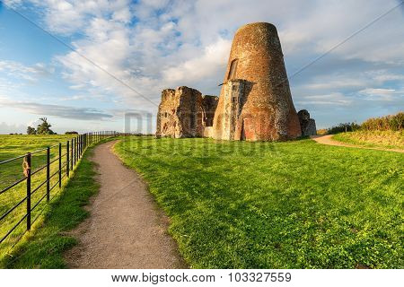 St Benet's Abbey Ruins On The Norfolk Broads