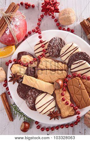 assorted biscuit