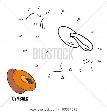 Numbers Game For Children: Musical Instruments (cymbals)