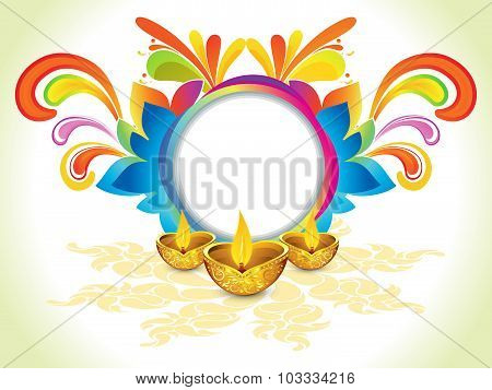 Abstract Colorful Celebration Explode Background