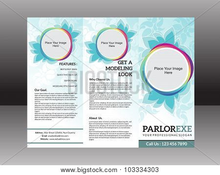 Abstract Artistic Detailed Parlor Flyer