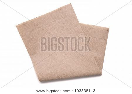 Tissue Paper On White Background