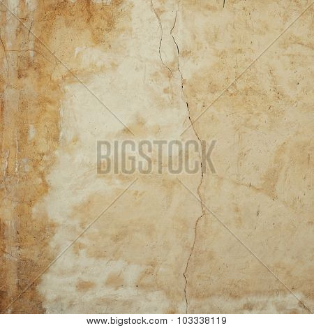 A grunge old wall texture with thin crack on it. Abstract background image.