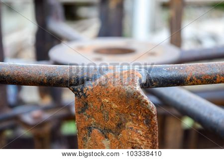 rim of steel wheel