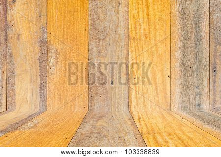 Vintage Wood Wall And Floor Background