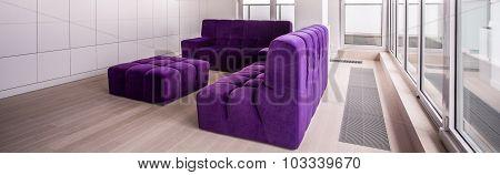 Relaxing Area In Luxurious Villa