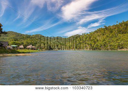 Lake In Cuba