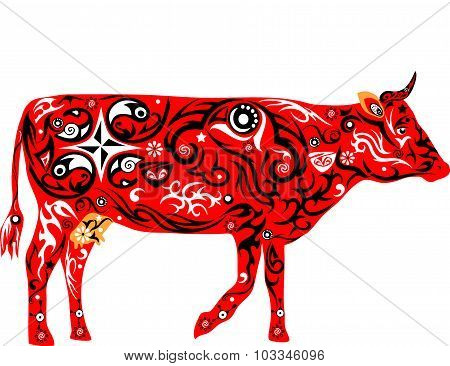 Cow red