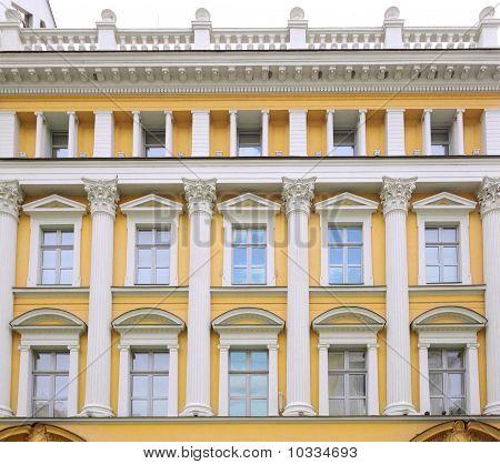 Classicist Building Facade