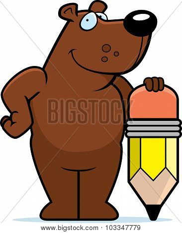 Bear Pencil