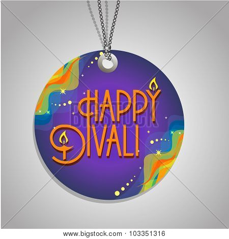 Happy  Diwali  Label
