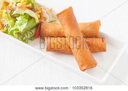 Deep fried spring roll