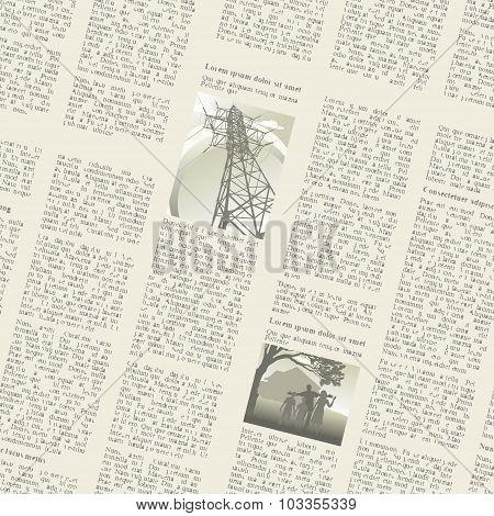 Newspaper Seamless