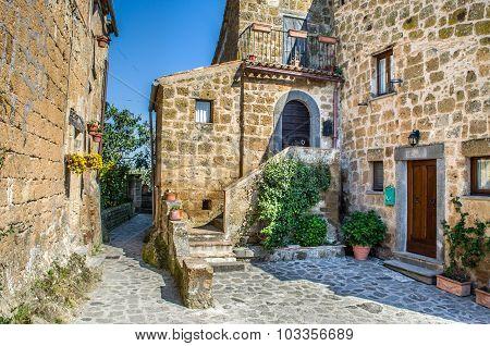 Bagnoregio Italian Village Houses