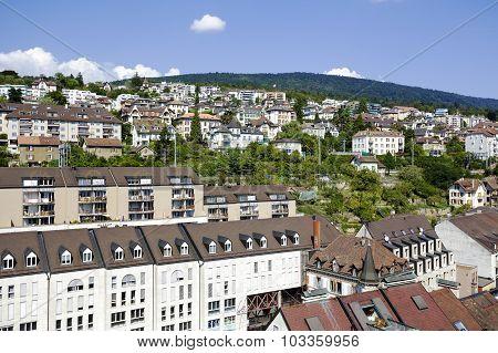 Buildings Of Neuchatel