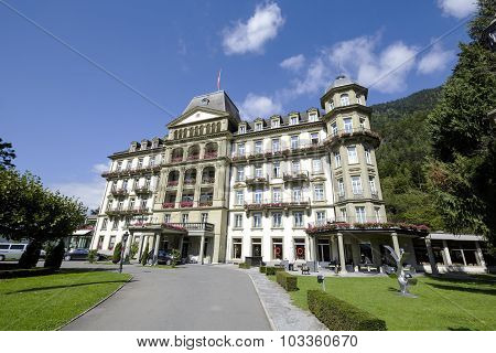 Lindner Grand Hotel Beau Rivage In Interlaken