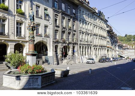 Townhouses At The Most Visited Street In Bern