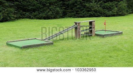Crazy Golf Course.