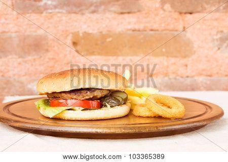 Classic Homemade Hamburger