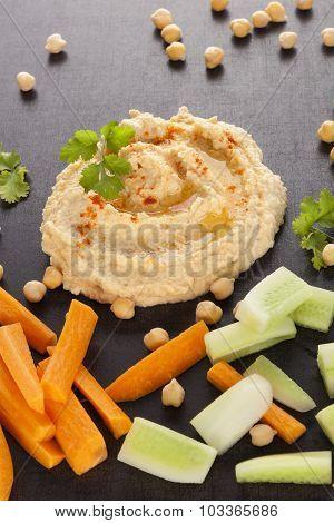 Delicious Hummus.
