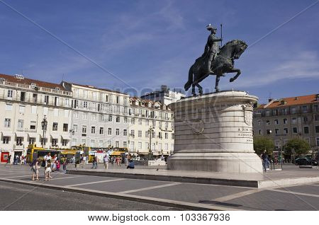 Equestrian Statue Of King John I
