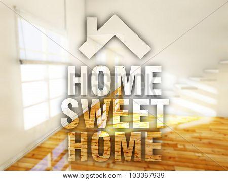 Home Sweet Home Creative Conceptual Illustration