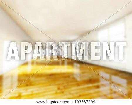 Apartment Interior, Creative Conceptual Illustration