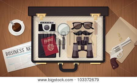 Detective's Briefcase