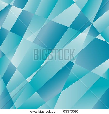 mosaic abstract blue background consisting of triangles. Look like ice